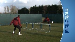 INSIDE CITY 69 - Yaya Toure v David Silva at football tennis