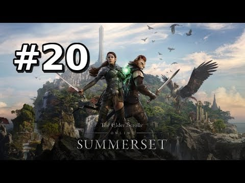Let's Play Elder Scrolls Online: Summerset BLIND (Gameplay / Walkthrough) [Part 20]