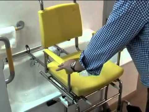 Grua ba era transferencia enfermos doovi - Silla ortopedica para banera ...
