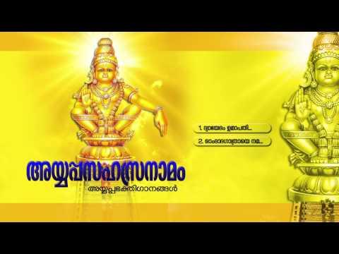 അയ്യപ്പസഹസ്രനാമം | AYYAPPASAHASRANAAMAM | Hindu Devotional Songs Malayalam | Ayyappa Songs