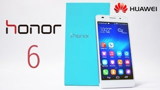 Huawei Honor 6 Dual Sim 5 Full HD 3GB RAM Unboxing Hands On