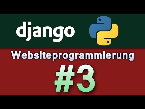 Websiteprogrammierung mit Django + Python #3 | Views [German/Deutsch|HD]
