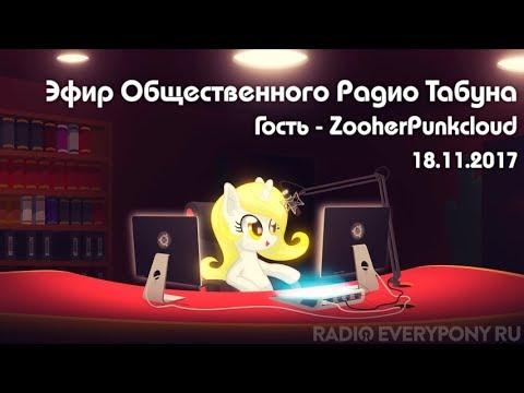 Эфир Общественного Радио Табуна 18.11.2017. Гость - ZooherPunkcloud
