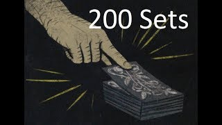 PoE - Loot from 1000 The Gambler cards - 200 Sets
