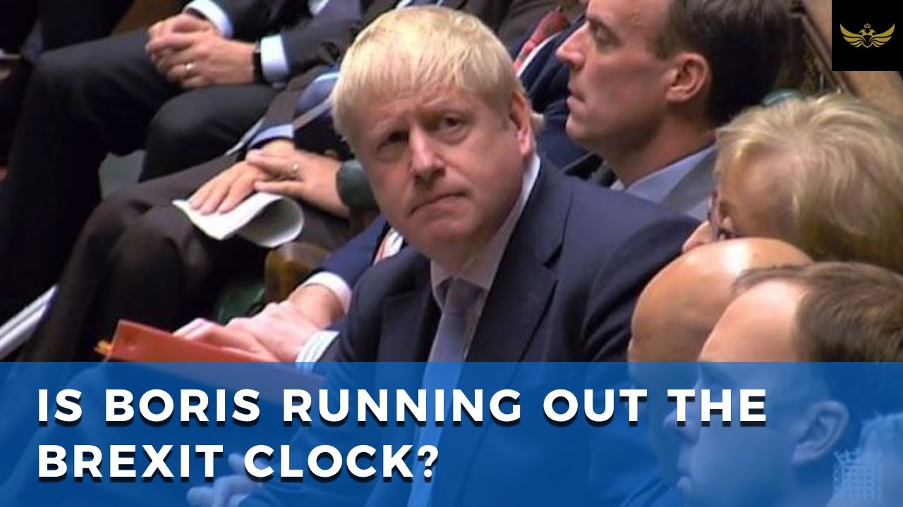 Is Boris Johnson running out the BREXIT clock?