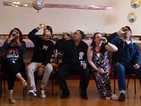 Baby Bottle Drinking Baby Shower Game