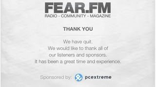 Fear.fm - Top 100 2012 (Last Broadcast) |HD;HQ|