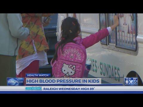 High blood pressure in kids