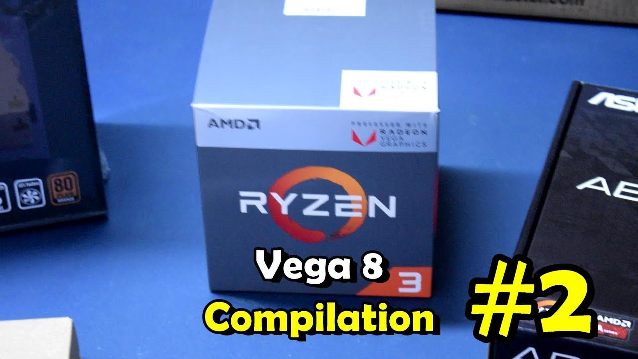 25 Games On Ryzen 3 2200g Vega 8 Graphics Ac O Fortnite Fc5 Bf1 Gta5 Youtube