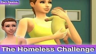 The Sims 4: Homeless Challenge // Momma Misses You (Part 12)