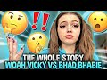 THE WHOLE STORY (TRUTH ABOUT EVERYTHING) .. WOAH VICKY VS BHAD BHABIE **MUST WATCH**