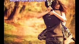Mujhko apne gale lagaa lo - Hamrahi - Full Karaoke Scrolling Lyrics