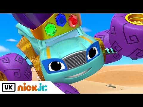 Blaze and the Monster Machines | Blaze and the Magic Genie | Nick Jr. UK