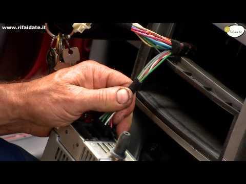 Come installare l'auto radio