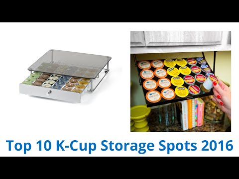 10 Best K-Cup Storage Spots 2016