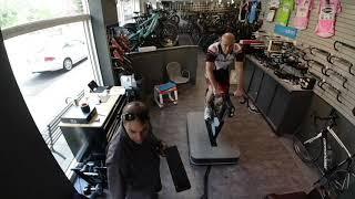 Comprehensive bike fit timelapse