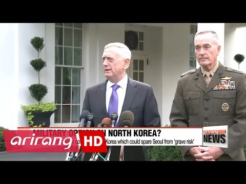 U.S. defense chief hints at military option on North Korea which could spare Seoul ...