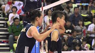 2014 InCheon AsianGames Women's Vollyball 20141002 [Korea vs China] Final [KBSn]
