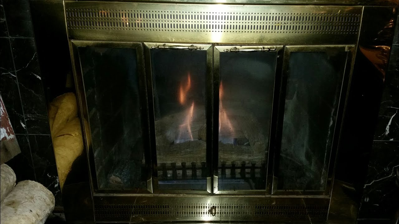 Easy Gas Fireplace Repair Amp Maintenance Youtube