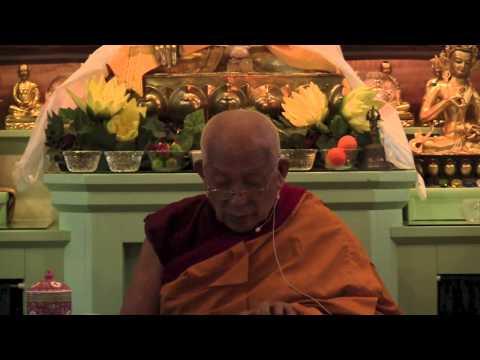 21 Aryadeva's 400 Stanzas on the Middle Way with Geshe Yeshe Thabkhe 09-03-14