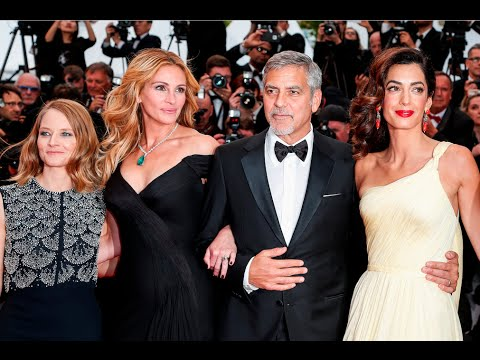 MONEY MONSTER Full Red Carpet | Festival de Cannes 2016 by F