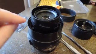 Люфт объектива Nikon 18-55 af-s жөндеу никон аф-с Repair Nikkor Lens problem autofocus