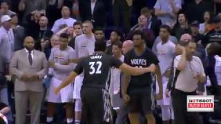Andrew Wiggins Wins It for T'Wolves | Tissot Buzzer Beater | 01.24.17