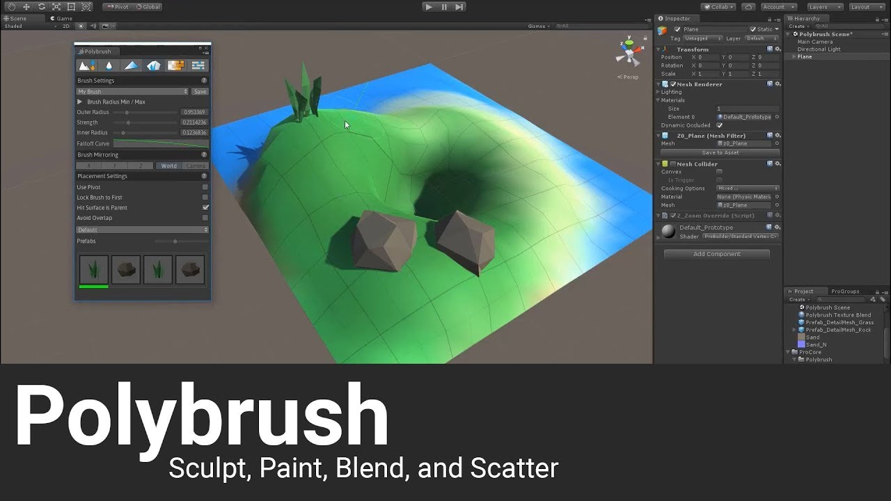 Polybrush Intro and Tutorial