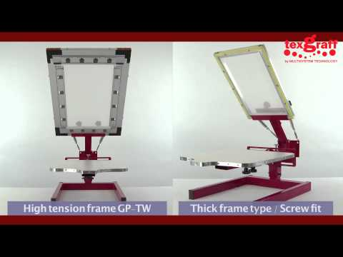 Tutorial Step by Step T-Shirt Screen Printing - Riso GOCCOPRO 100