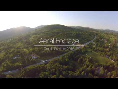 Croatia Aerial View