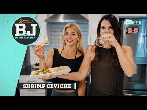 Brooke & Jeanna in the Kitchen - Shrimp Ceviche