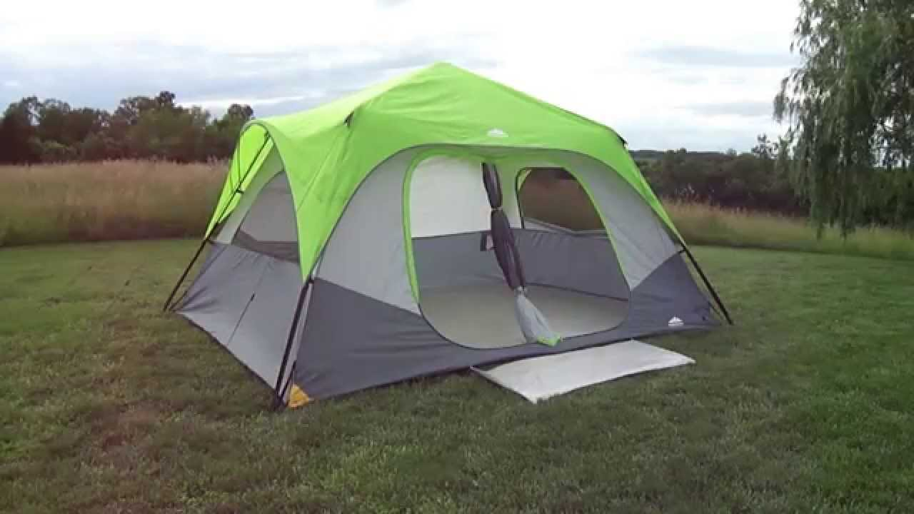 & Kmart NWT 8-Person Instant Tent Setup - YouTube