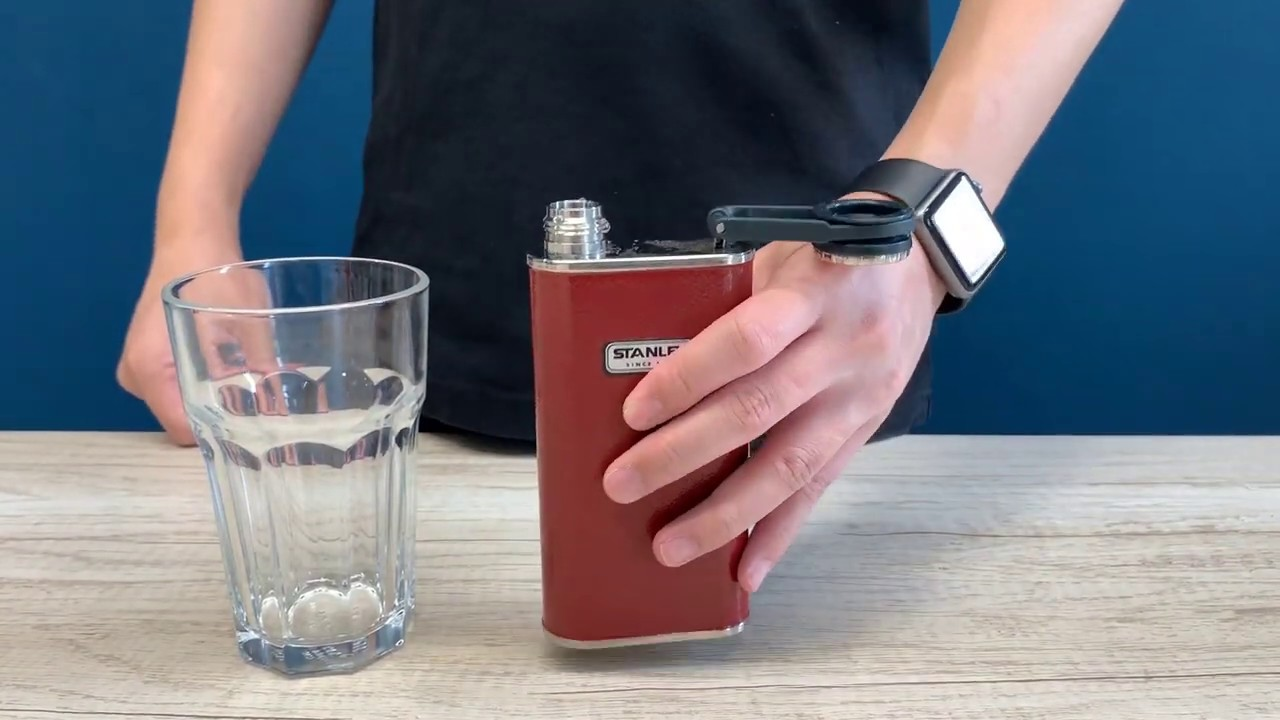 Stanley 8oz Classic Stainless Steel Wide Mouth Flask Crimson (Old Logo –  Thomas Tools Malaysia