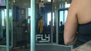 Everyone in the first group iFly