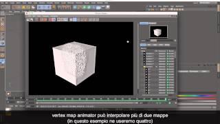 Vertex Map Animator Plugin Cinema 4D  (IT)