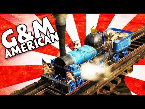 G&M American Train! - Railway Empire Gameplay - Railway Empire Part 5