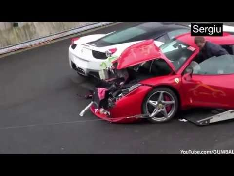 Ferrari Crash Compilation 2016 2017 Super Car Crash Compilation Crashes And Accidents Youtube