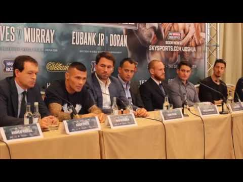 GEORGE GROVES v MARTIN MURRAY - OFFICIAL PRESS CONFERENCE W/ EDDIE HEARN, NISSE SAUERLAND