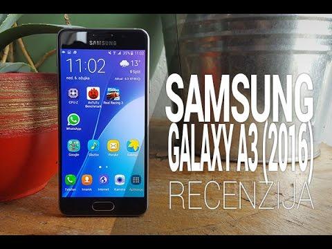 Samsung Galaxy A3 2016 Recenzija