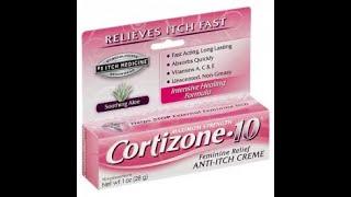 Feminine Hygiene: Cortizone 10 Feminine Cream Review