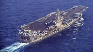 USS Carl Vinson Approaching North Korea after Failed Missile Test