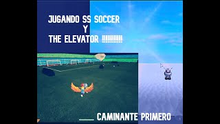 the elevator y ss soccer :v - ROBLOX