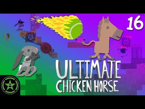 THE ABSOLUTE GRINDER - Ultimate Chicken Horse (#16) | Let's Play