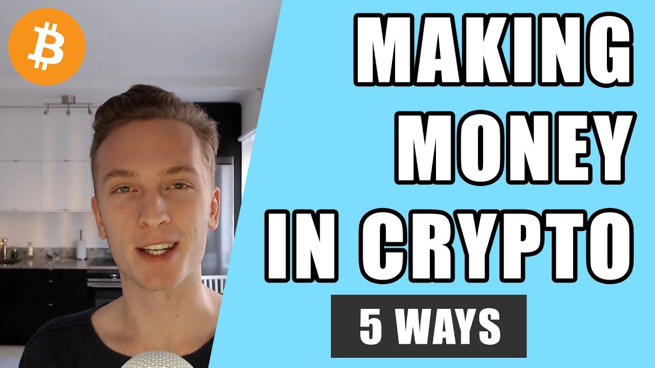 best way to make money with cryptocurrency