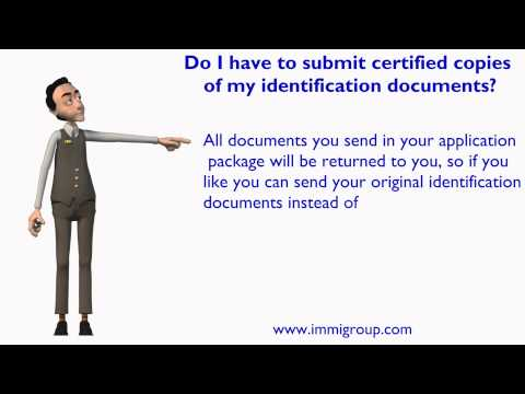 Do I Have To Submit Certified Copies Of My Identification Documents?