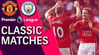 Manchester United v. Manchester City | PREMIER LEAGUE CLASSIC MATCH | 9/20/2009 | NBC Sports