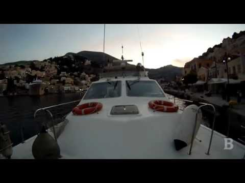 Hellenic Coast Guard night patrol at Symi