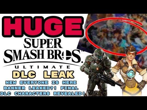 Repeat HUGE Smash Ultimate DLC Leak! SMASH DIRECT, ALL DLC FIGHTERS
