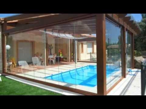 Cerramientos de cristal pergomadera youtube - Cerramiento de madera ...