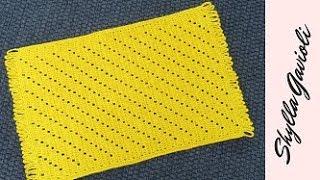 tapete passadeira em crochê facil como fazer pap passo a passo grafico ganchillo bufanda crochet rug